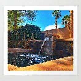 Desert Relaxation Art Print