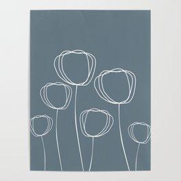 Simple Poppy Poster