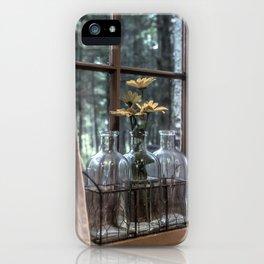 Bottled Flowers iPhone Case