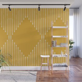 Geo / Yellow Wall Mural