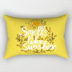 Smells Like Sunshine Rectangular Pillow