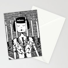 Eloise sets the mood Stationery Cards