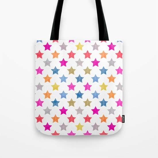 Colorful Star III Tote Bag