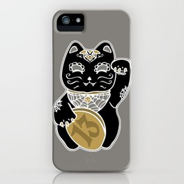 Unlucky Kitty iPhone Case