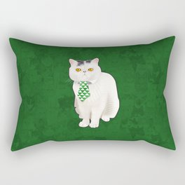Dagoo (Green) Rectangular Pillow