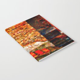 Ruins at Pompeii Italy Notebook