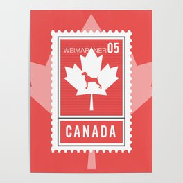 CANADA WEIM STAMP Poster