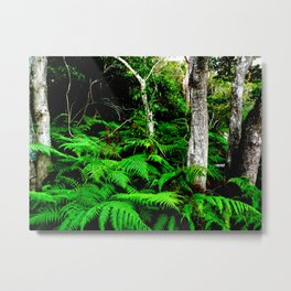 Isn't it good to be lost in the wood Metal Print