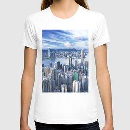 Hong Kong-Buildings T-shirt