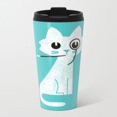 Mark - Aristo-Cat Metal Travel Mug
