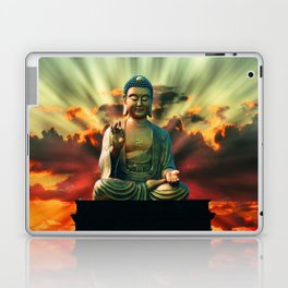 Buddha Sunrise Laptop & iPad Skin