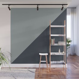 Mix + Match // Origami Geo Tile // Grays Wall Mural