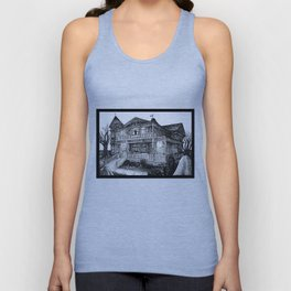 The Witch House Unisex Tank Top