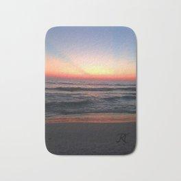 Radiant Sunset I Bath Mat