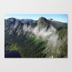 Misty Fjords Canvas Print