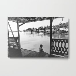 Quiet Moment on Isla Bastimento, Panama Metal Print