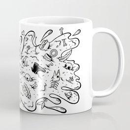 Cat Trash Barf Coffee Mug