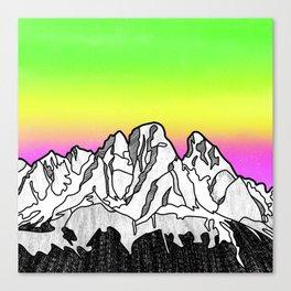 Cristallo Massif Canvas Print