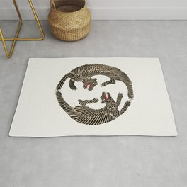 Japanese Tiger Rug