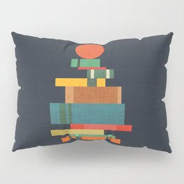 Book stack with a ball Pillow Sham