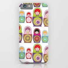 Russian dolls kawaii Slim Case iPhone 6