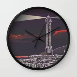 Lighthouse / Punta Lava La Palma Wall Clock
