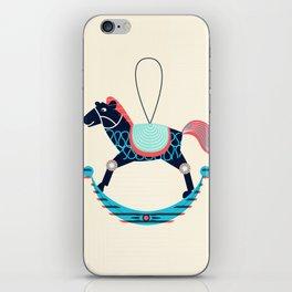 Rocking Horse iPhone Skin