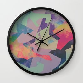 Camouflage XXXI Wall Clock
