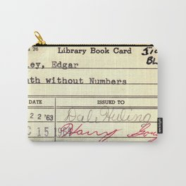 LibraryCard 510 Math Without Numbers Carry-All Pouch