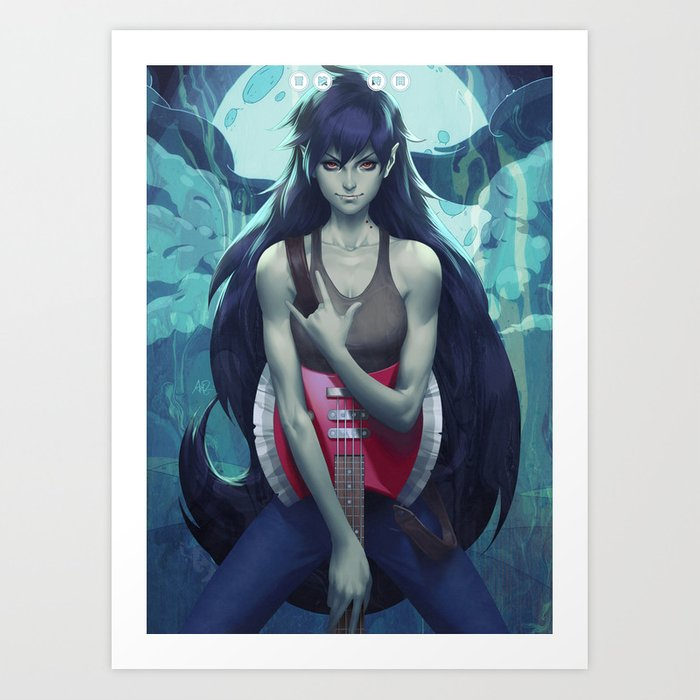 Discover the motif MARCIE by Stanley Artgerm Lau as a print at TOPPOSTER
