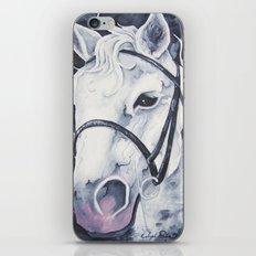 Pale White Horse iPhone & iPod Skin