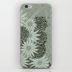 Flowerlines iPhone Skin