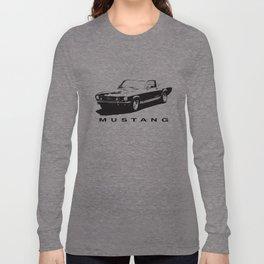 Mustang Design Long Sleeve T-shirt