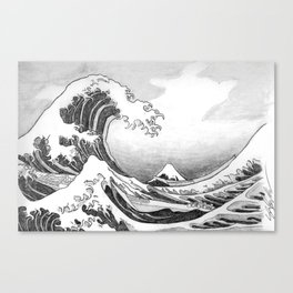 Great Wave Off Kanagawa Canvas Print