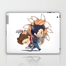 (Happily) Carry Him Away Laptop & iPad Skin