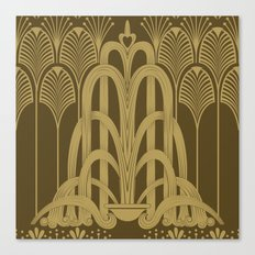 Gilded Glamour Canvas Print