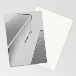 September 11 Tribute - Never Forget - World Trade Center Stationery Cards