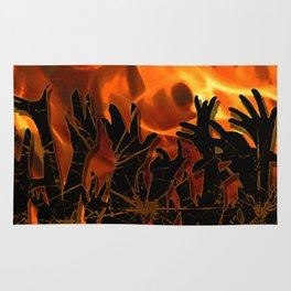 Hellfire Rug