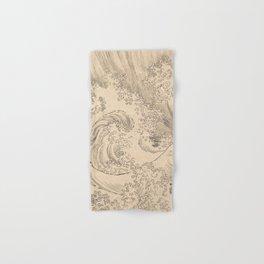 Wave by Katsushika Hokusai 1760–1849, Japanese Hand & Bath Towel