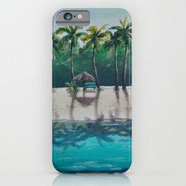 Honeymoon Beach iPhone Case
