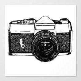Camera Pop Canvas Print