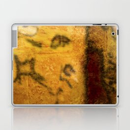 Brown and Orange Grungy Abstract Pattern Laptop & iPad Skin