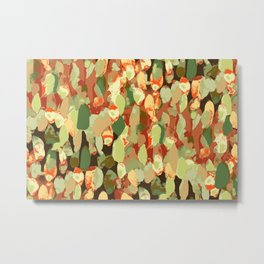 Splotch Dots Metal Print