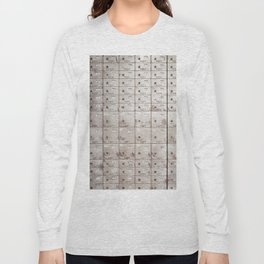 Chests with numbers Long Sleeve T-shirt