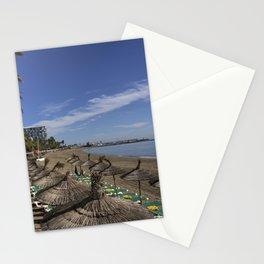 Marbella Beach  Stationery Cards