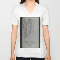 30 seconds to mars V-neck T-shirts featuring Thirty Seconds To Mars. by TheArtOfFaithAsylum