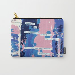 Cafe - Digitally manipulated painting Carry-All Pouch
