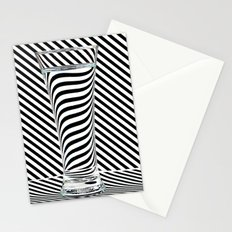 Striped Water Stationery Cards