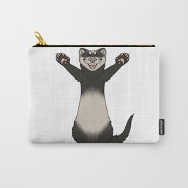 Happy Ferret Carry-All Pouch
