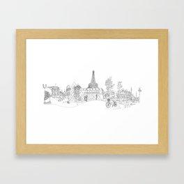 Paris! Version#1 Framed Art Print